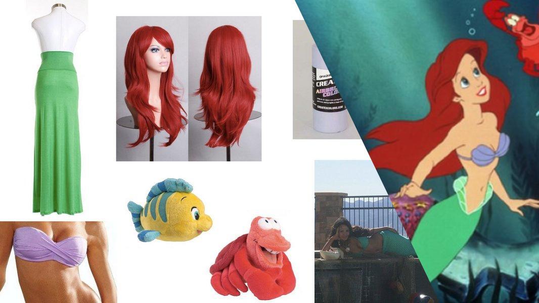Ariel The Little Mermaid Cosplay Tutorial