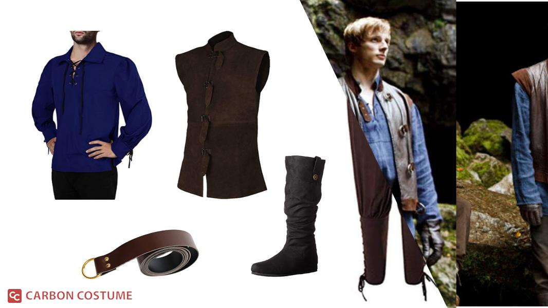 Arthur Pendragon from Merlin Cosplay Tutorial