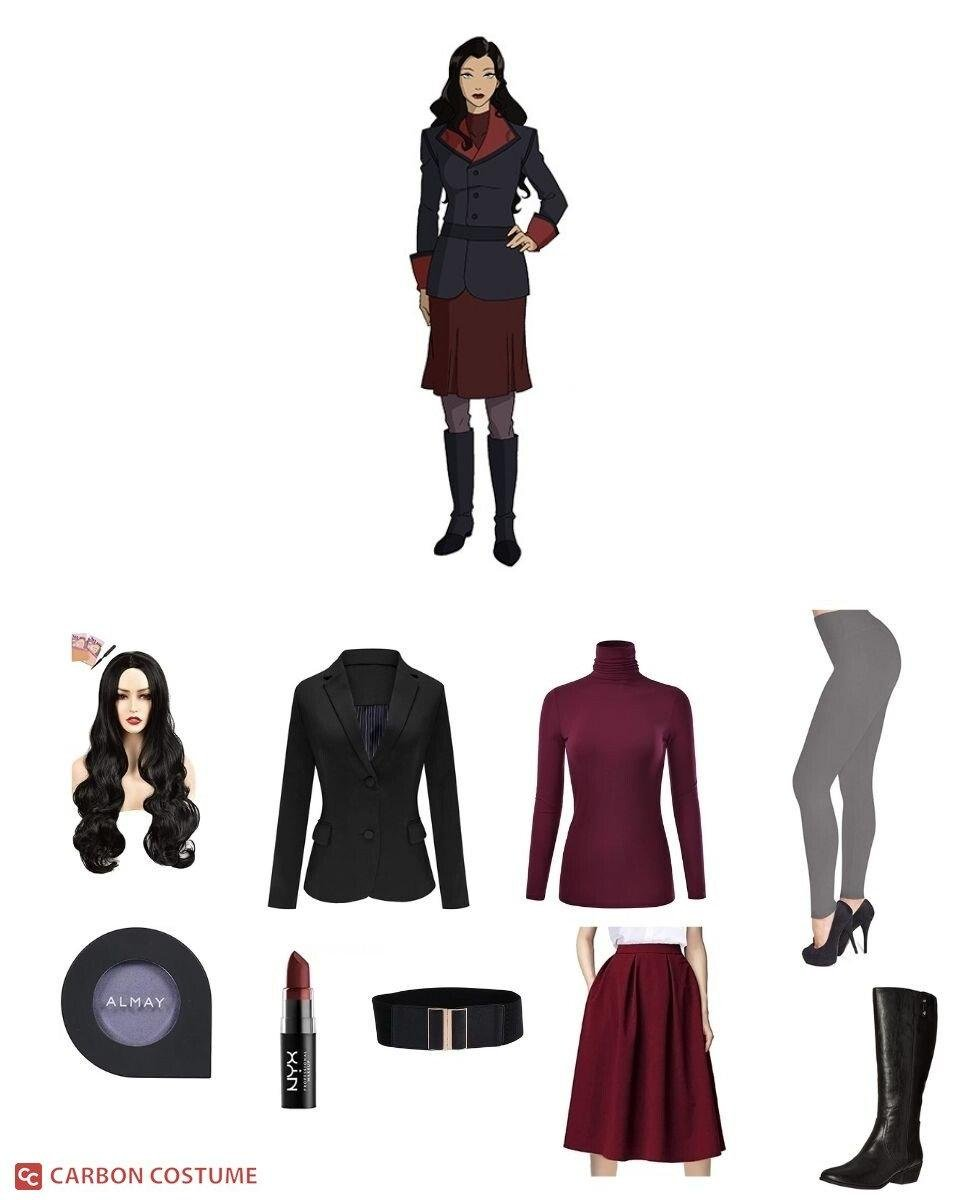 Asami Sato from Legend of Korra Cosplay Guide