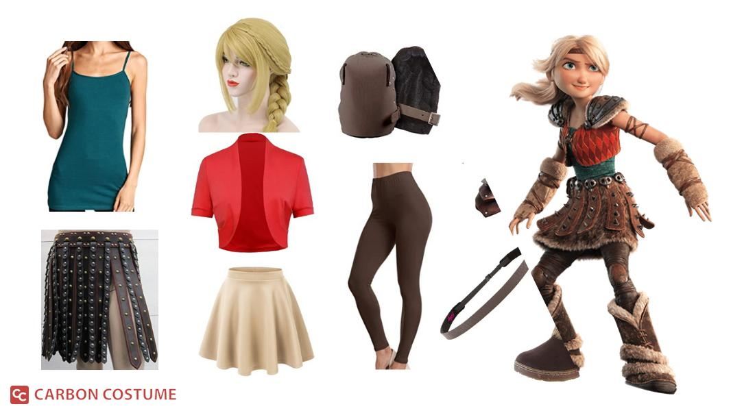 Astrid Hofferson from How to Train Your Dragon Cosplay Tutorial