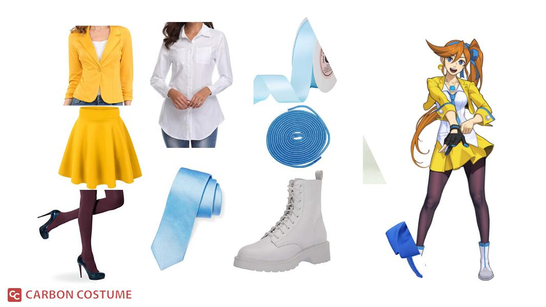 Athena Cykes from Ace Attorney Cosplay Tutorial