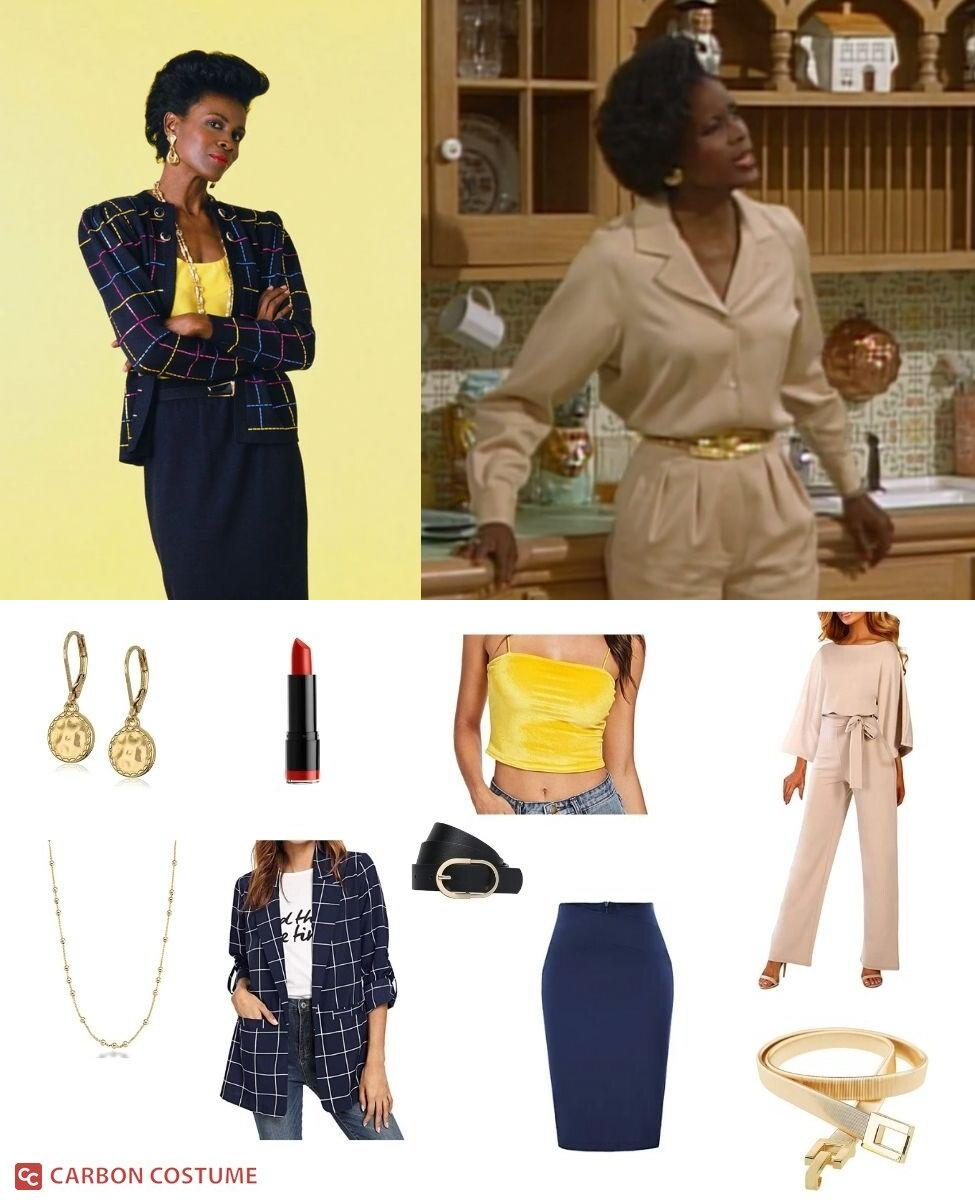 Aunt Vivian from Fresh Prince of Bel-Air Cosplay Guide