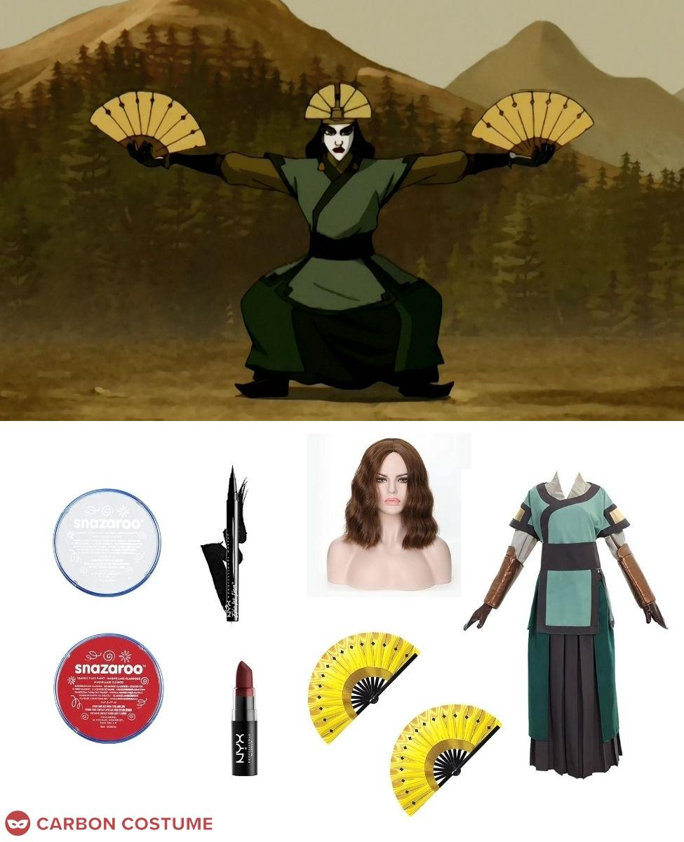 Avatar Kyoshi Cosplay Guide