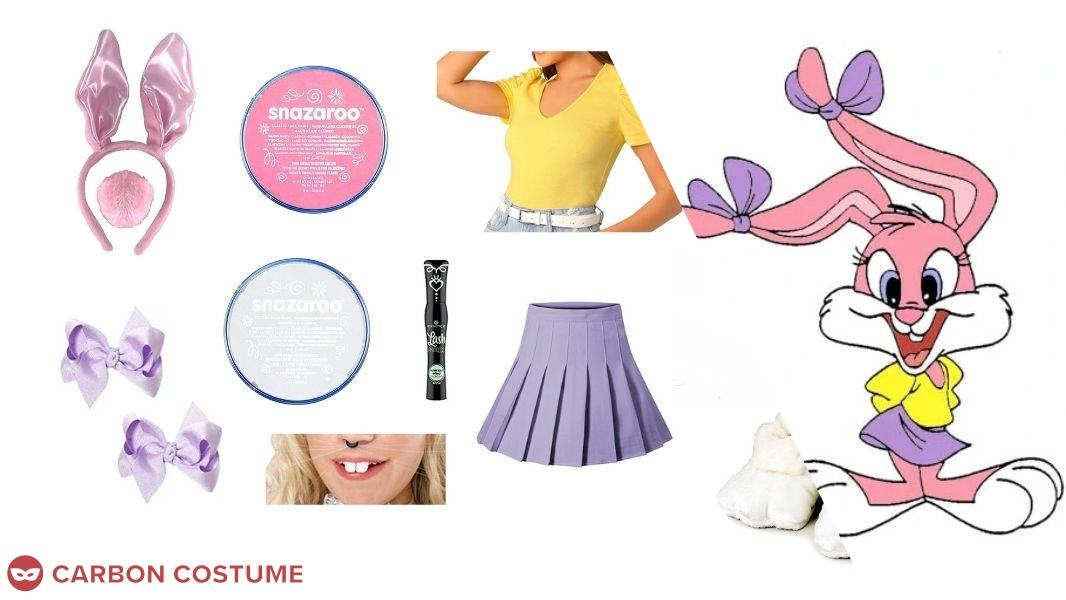 Babs Bunny from Tiny Toon Adventures Cosplay Tutorial