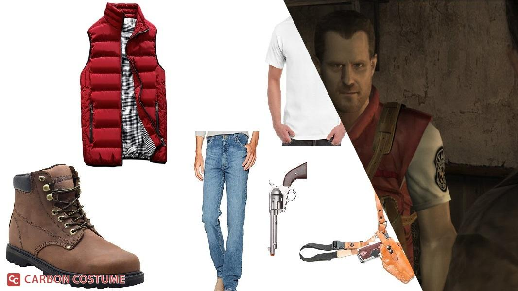 Barry Burton from Resident Evil Cosplay Tutorial