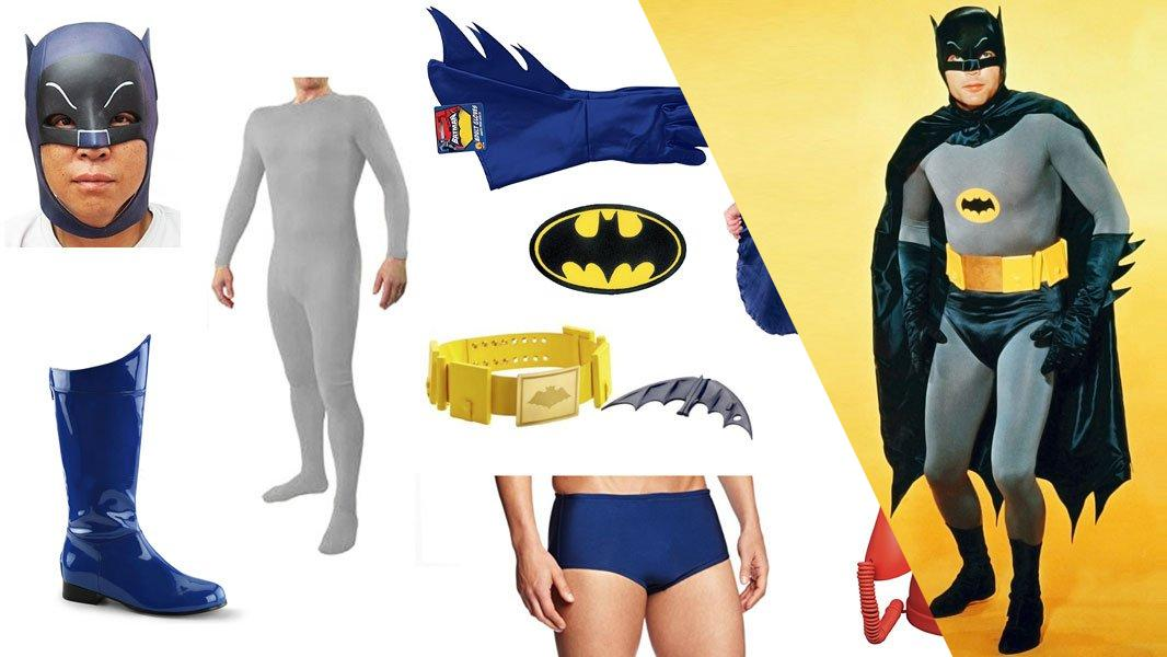 Batman (Adam West) Cosplay Tutorial