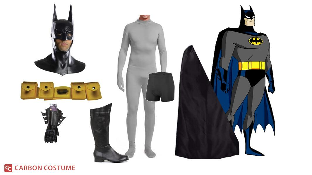 Batman from Batman: The Animated Series Cosplay Tutorial