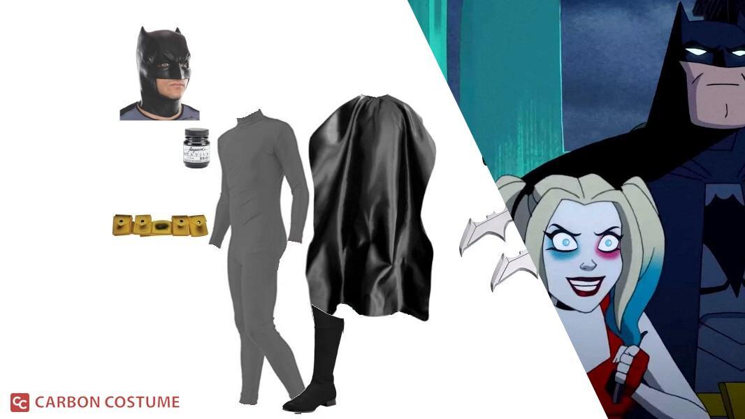 Batman from Harley Quinn Cosplay Tutorial