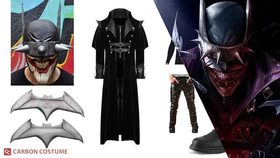 Batman from The Batman Who Laughs Cosplay Tutorial