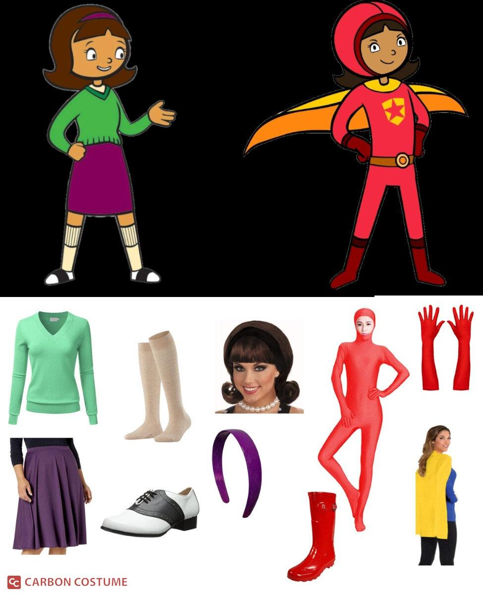 Becky Botsford from WordGirl Cosplay Guide