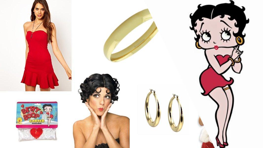 Betty Boop Cosplay Tutorial