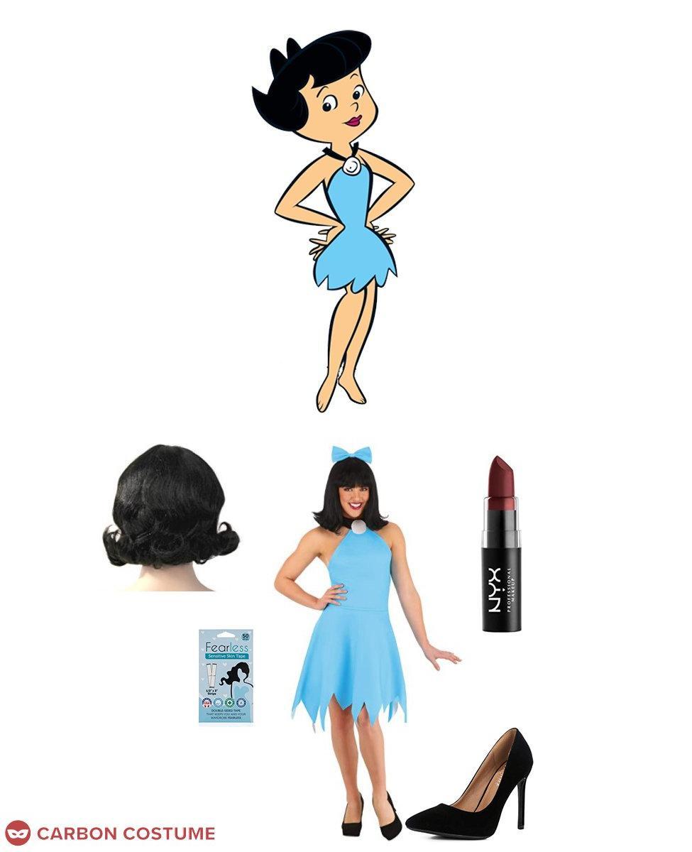 Betty Rubble from The Flintstones Cosplay Guide