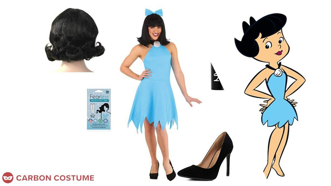 Betty Rubble from The Flintstones Cosplay Tutorial