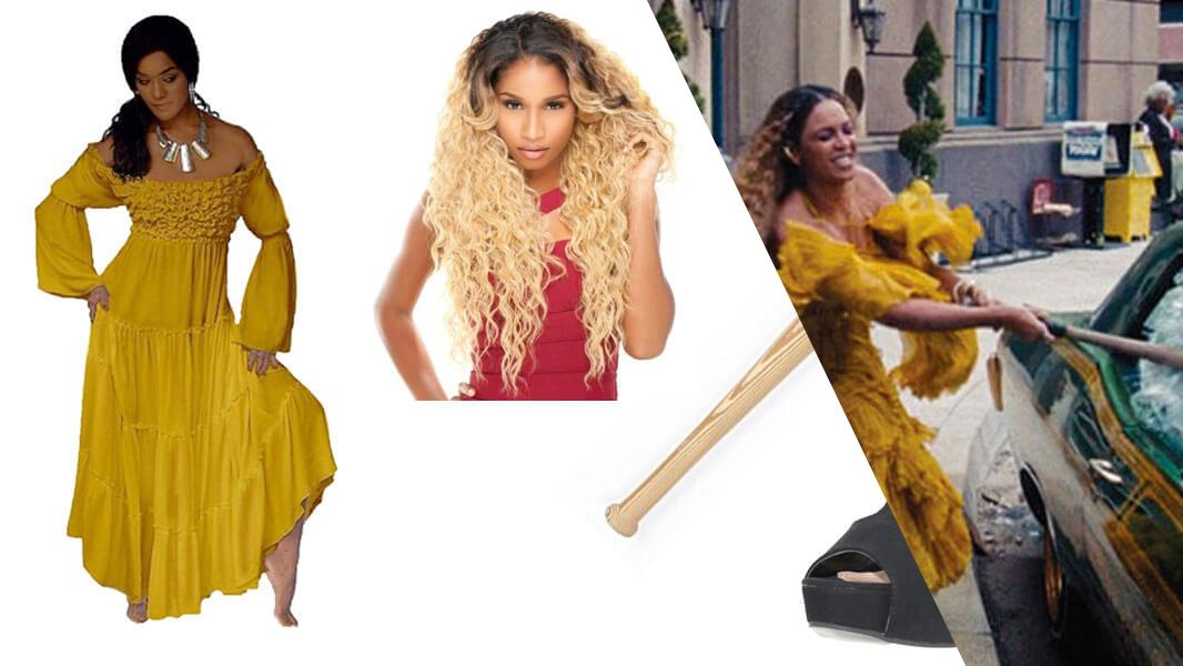 Beyonce Hold Up Cosplay Tutorial