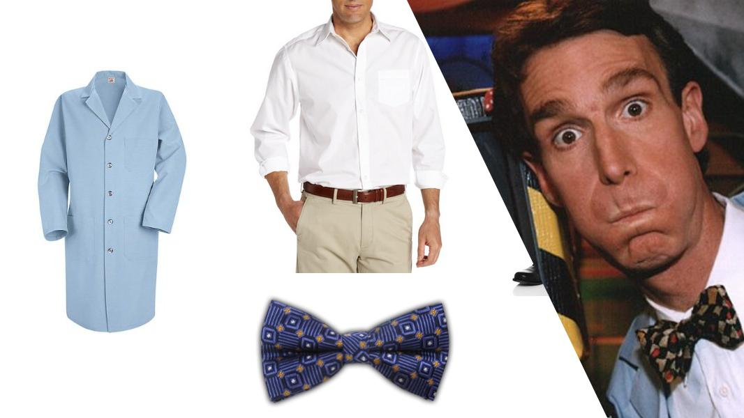 Bill Nye the Science Guy Cosplay Tutorial