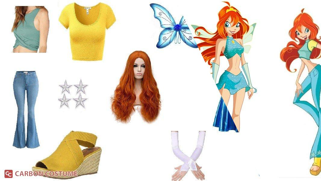 Bloom from Winx Club Cosplay Tutorial