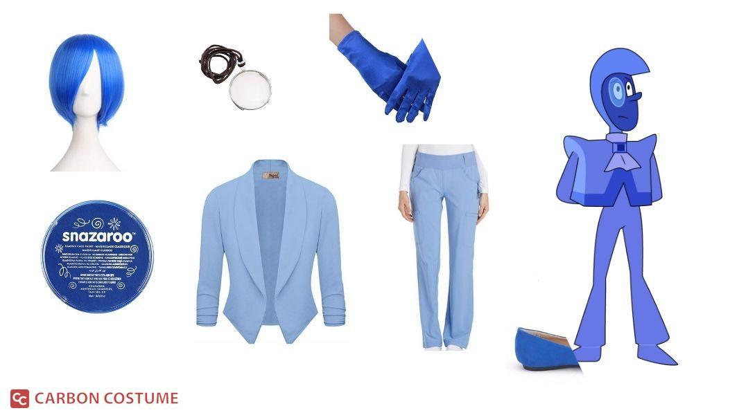 Blue Zircon from Steven Universe Cosplay Tutorial