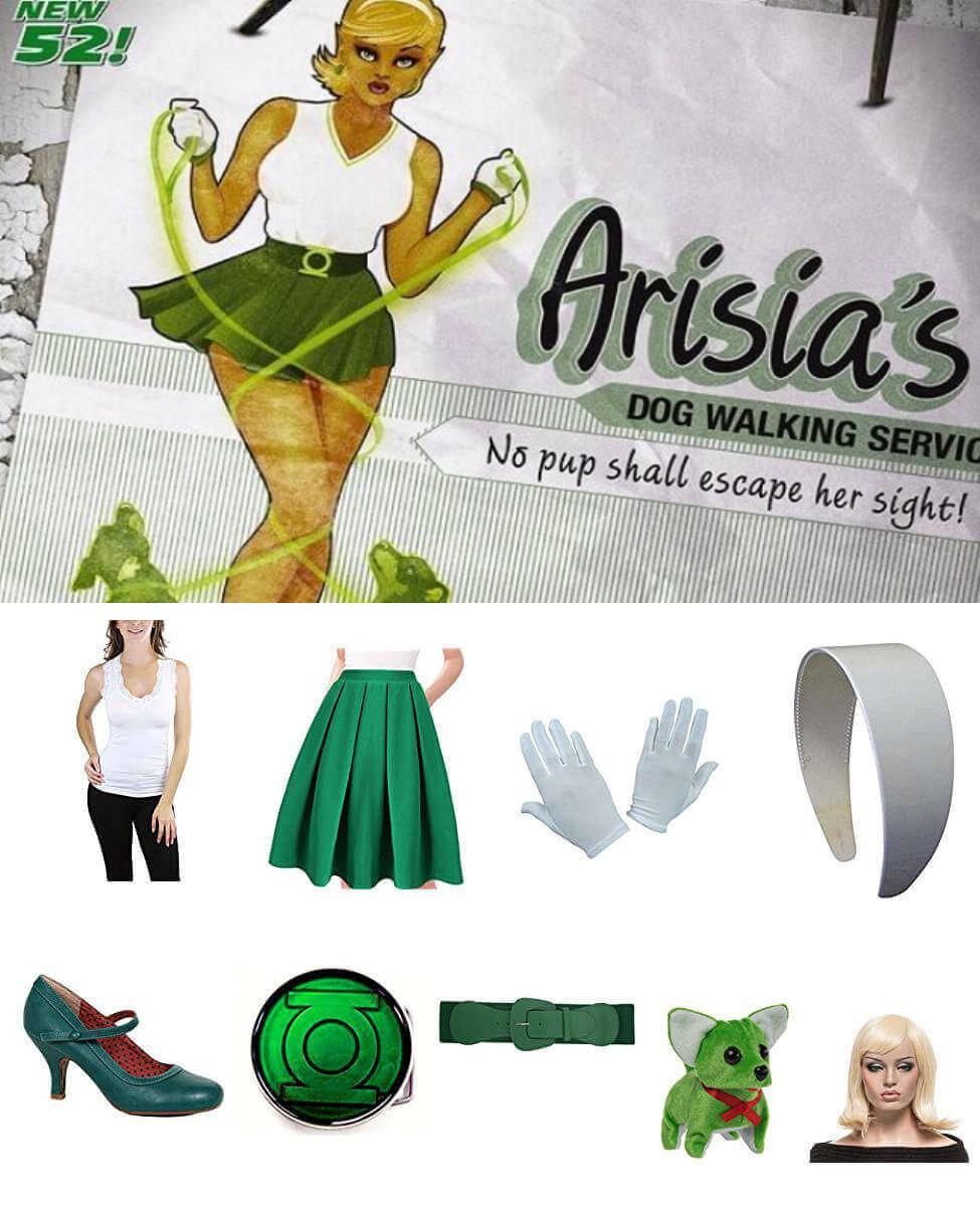 Bombshell Arisia Cosplay Guide