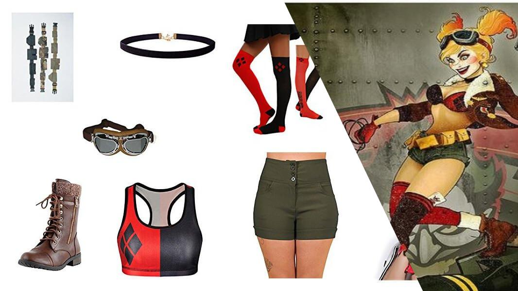 Bombshell Harley Quinn Cosplay Tutorial