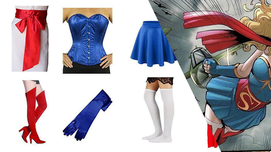Bombshell Supergirl Cosplay Tutorial