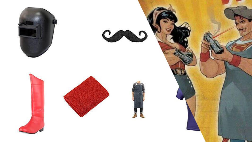 Bombshell Superman Cosplay Tutorial
