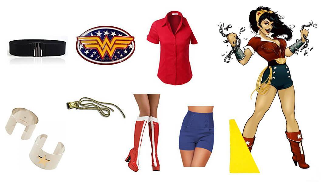 Bombshell Wonder Woman Cosplay Tutorial