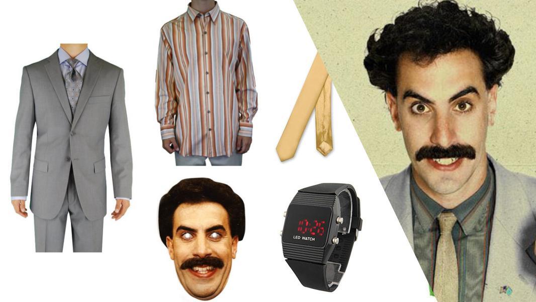 Borat Cosplay Tutorial