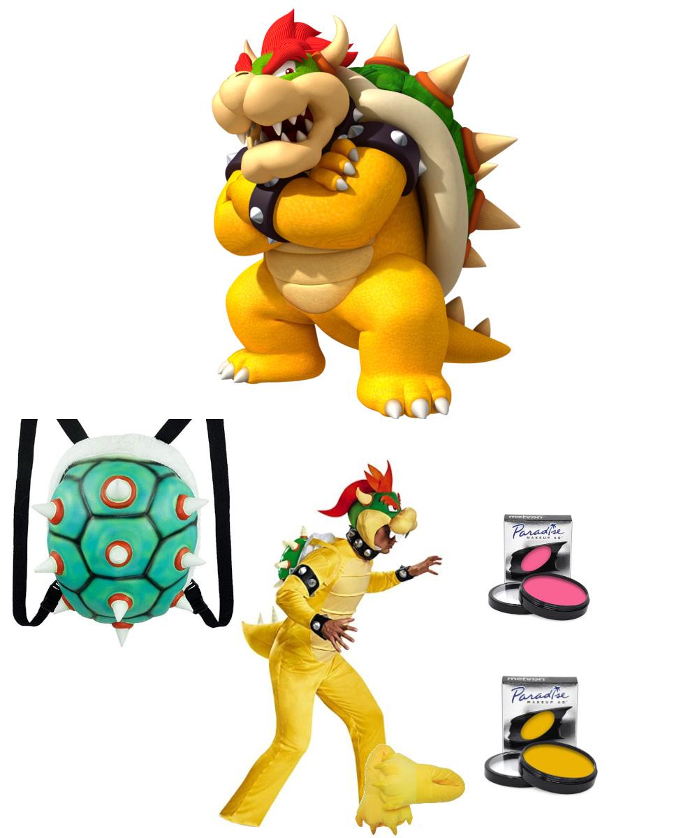 Bowser from Super Mario Bros. Cosplay Guide