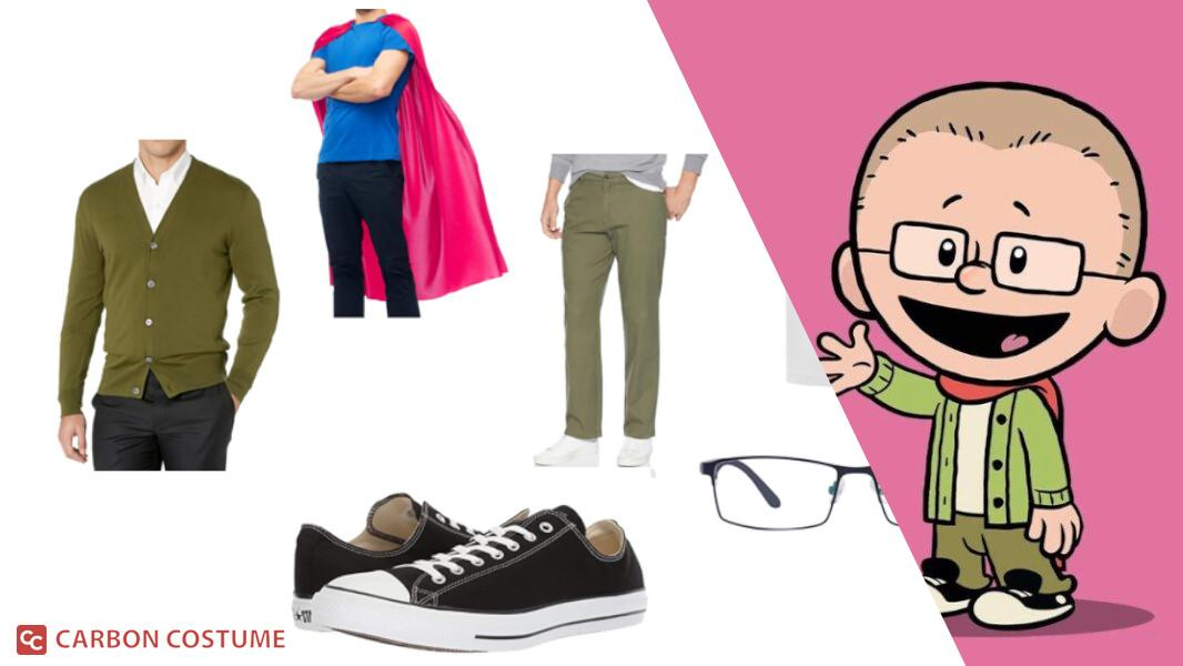 Brad Meltzer from Xavier Riddle and the Secret Museum Cosplay Tutorial