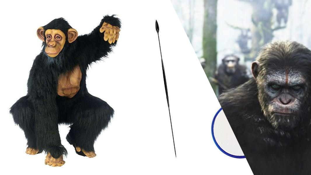 Caesar from Dawn of the Planet of the Apes Cosplay Tutorial