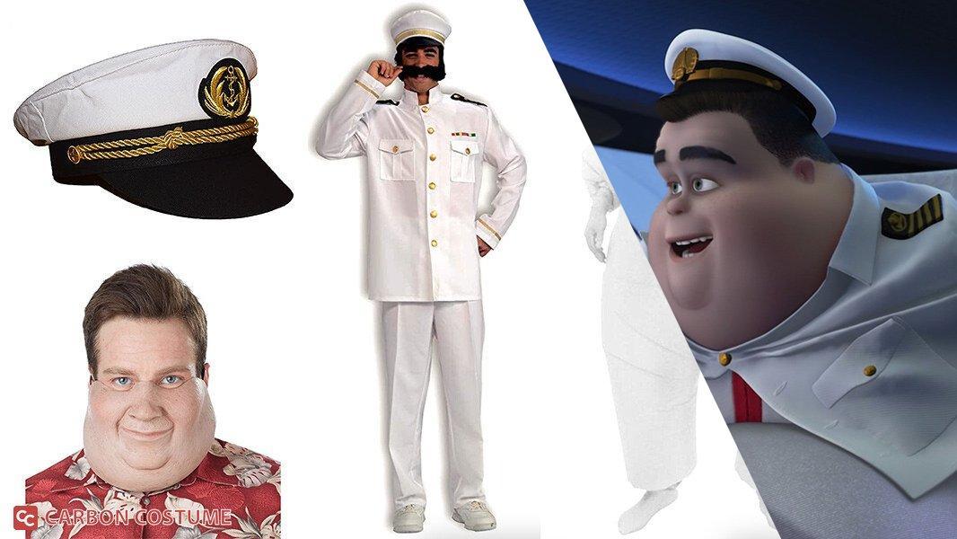 Captain B. McCrea from Wall-E Cosplay Tutorial