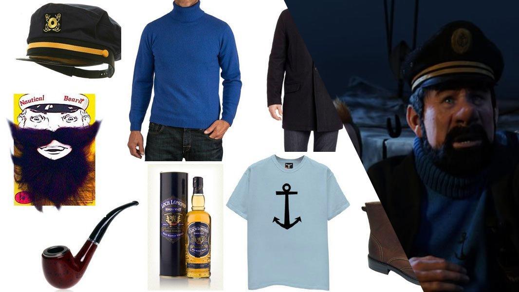 Captain Haddock Cosplay Tutorial