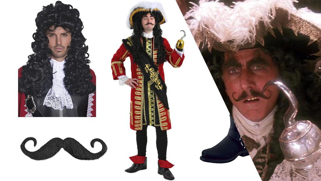 Captain Hook from Hook Cosplay Tutorial