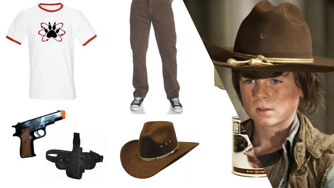 Carl Grimes Cosplay Tutorial