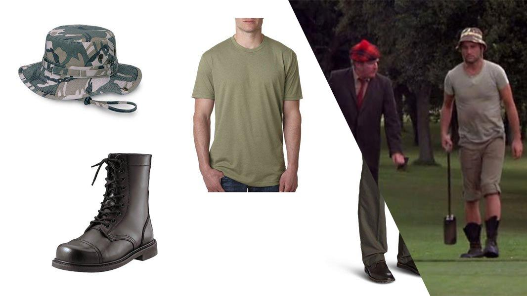 Carl Spackler from Caddyshack Cosplay Tutorial