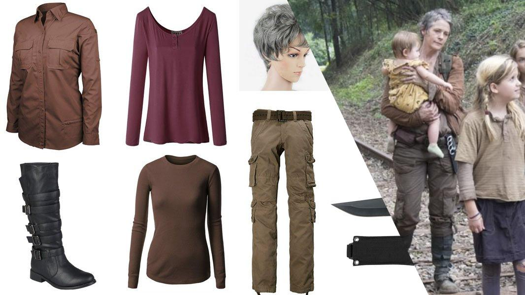 Carol Peletier Cosplay Tutorial