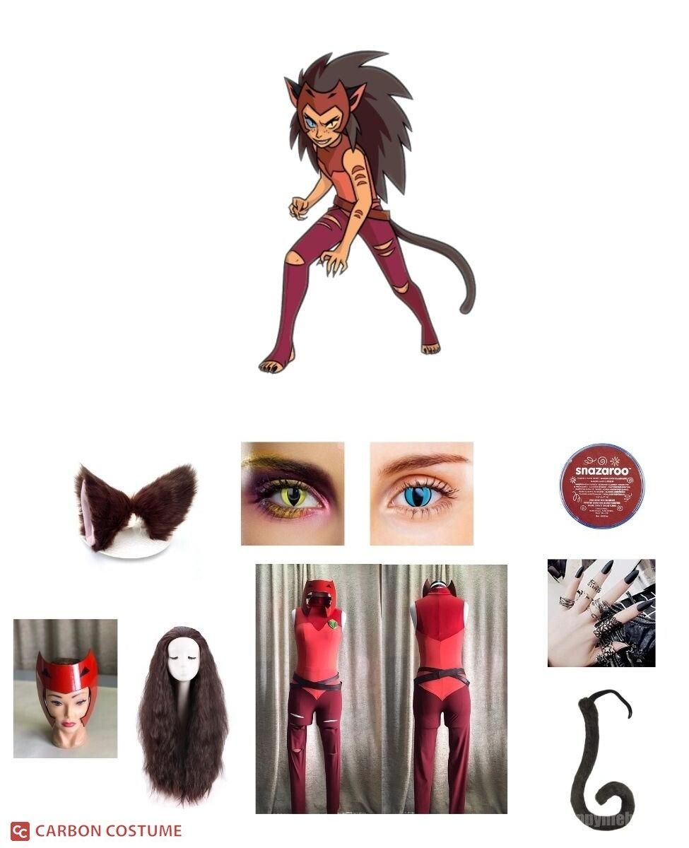 Catra from She-Ra and the Princesses of Power Cosplay Guide