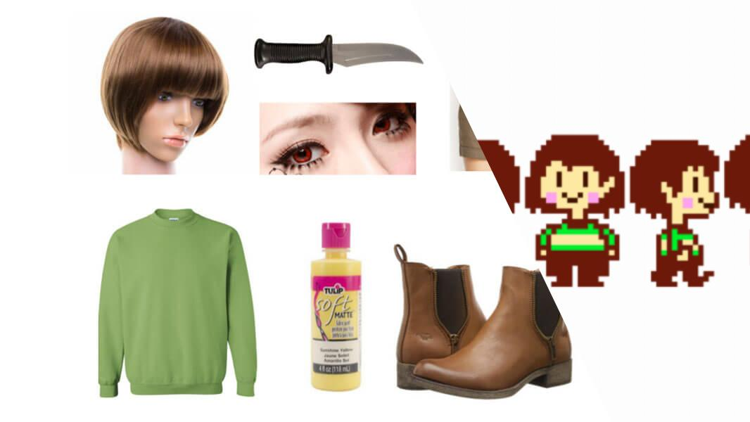 Chara from Undertale Cosplay Tutorial