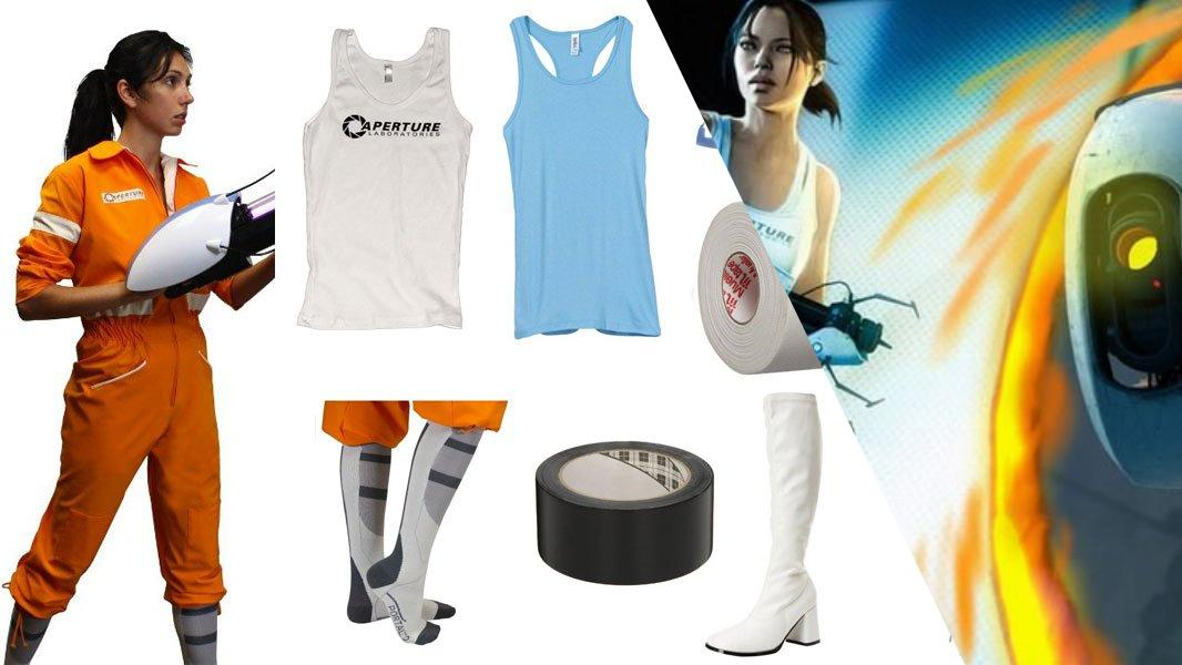 Chell from Portal Cosplay Tutorial