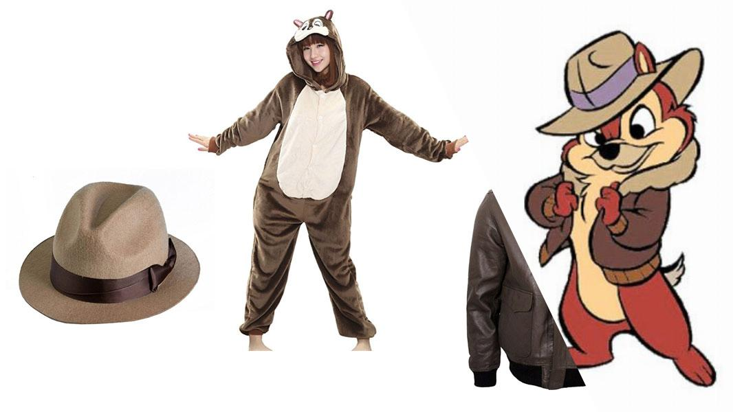 Chip from Chip 'n Dale: Rescue Rangers Cosplay Tutorial