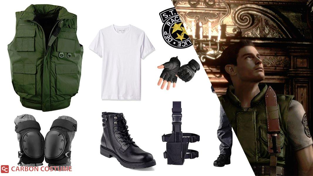 Chris Redfield from Resident Evil 1 Cosplay Tutorial