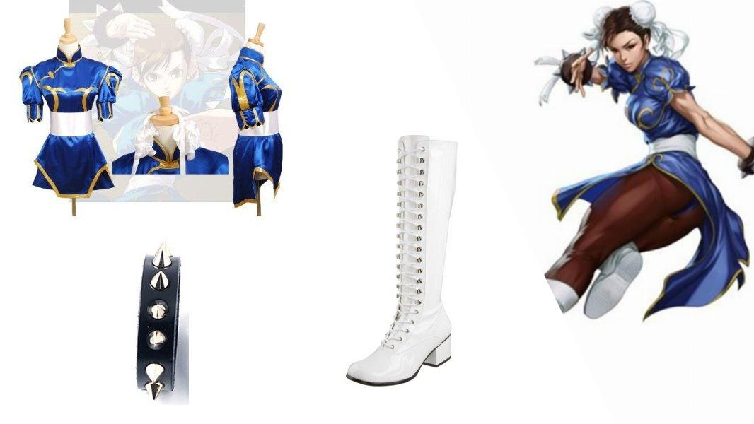 Chun-Li Cosplay Tutorial