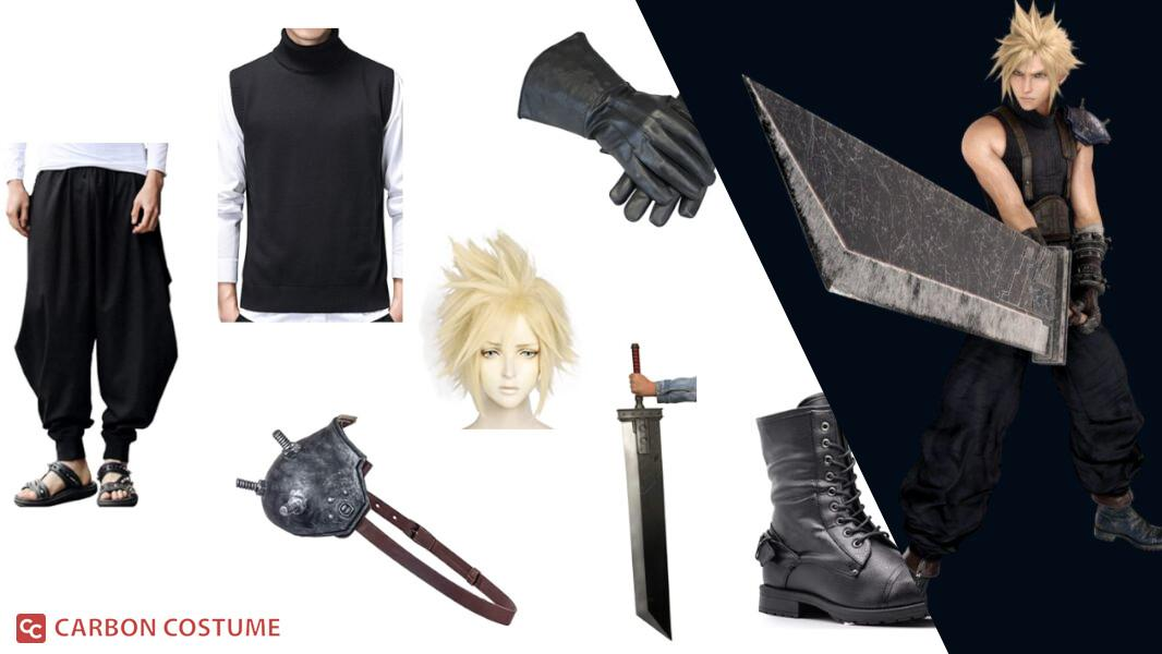 Cloud Strife from Final Fantasy VII Cosplay Tutorial