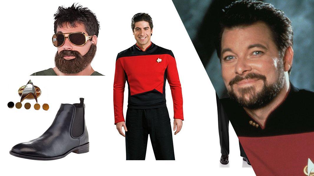 Commander William Riker Cosplay Tutorial