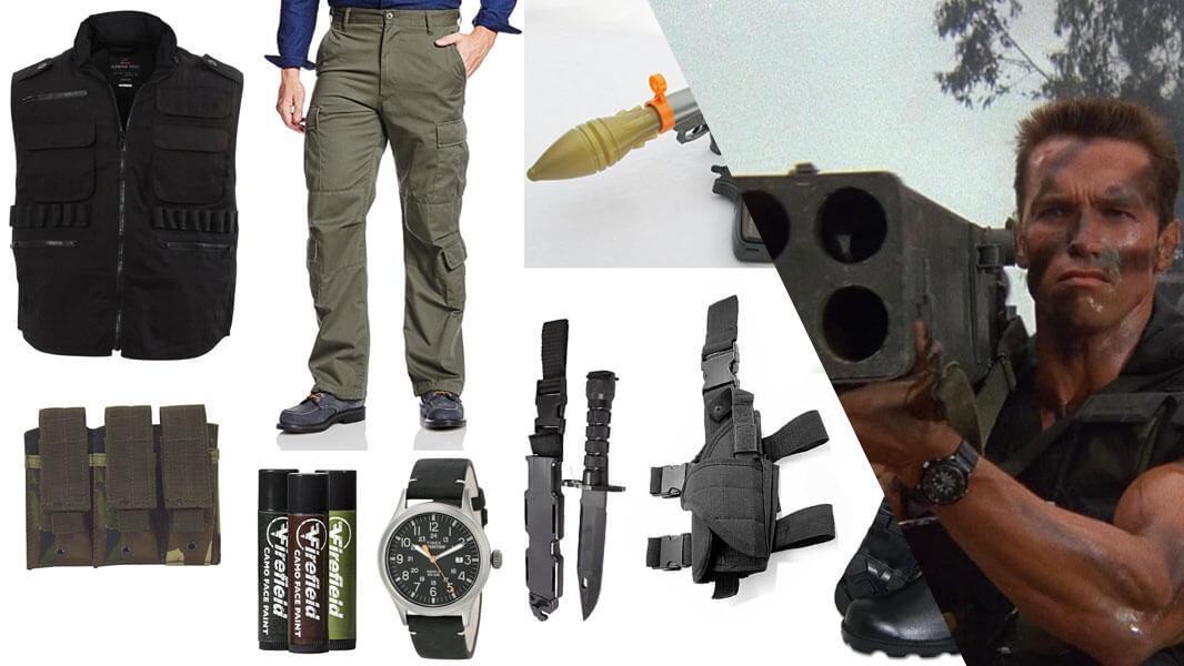 Commando John Matrix Cosplay Tutorial