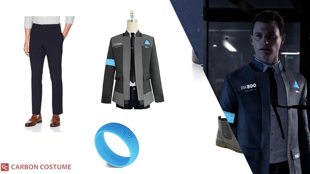 Connor from Detroit: Become Human Cosplay Tutorial