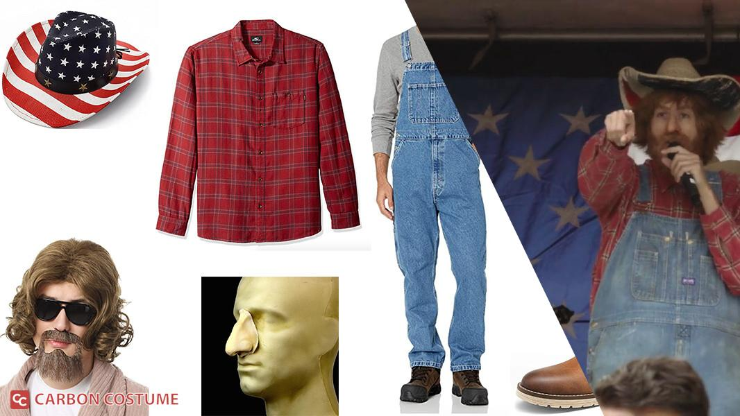 Country Steve from Borat 2 Cosplay Tutorial