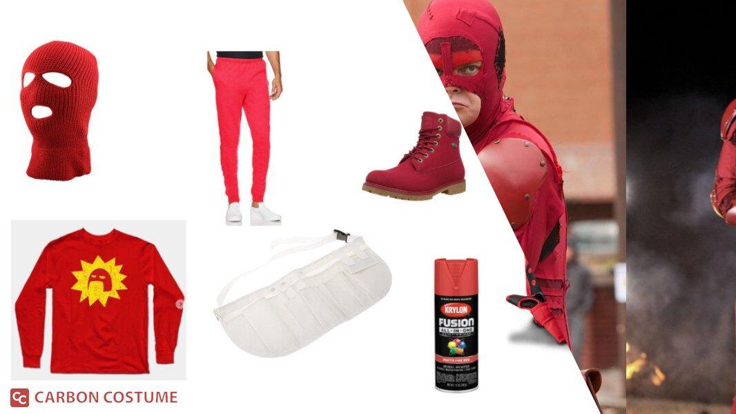 Crimson Bolt from Super Cosplay Tutorial