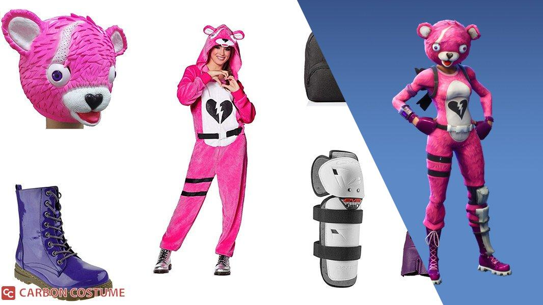 Cuddle Team Leader from Fortnite Cosplay Tutorial