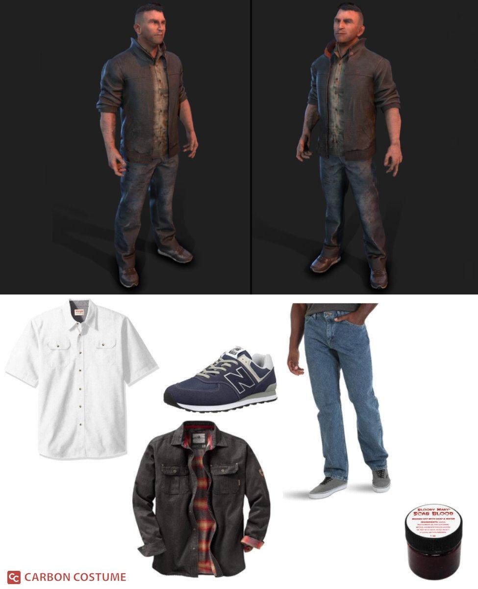 David King from Dead by Daylight Cosplay Guide